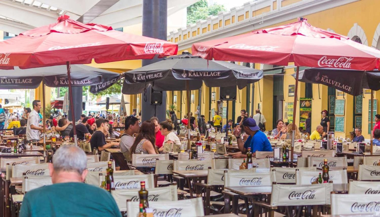 No Mercado Público de Florianópolis você encontra dezenas de opções de restaurantes