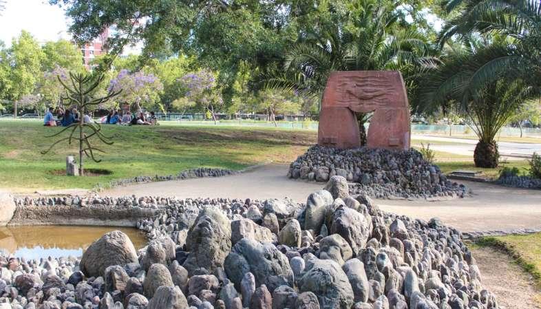 O que fazer em Santiago - Parque de las Esculturas