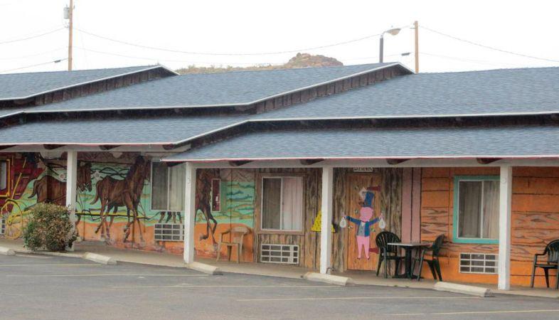 Onde se hospedar na Rota 66-El Trovatore Motel Kingman