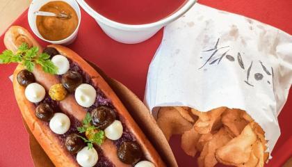 Hot Pork: por 10 reais você completa seu cachorro-quente e monta um combo com batata frita e refresco