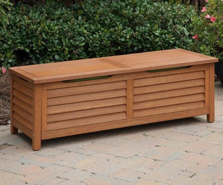Bench Outdoor Storage Ideas