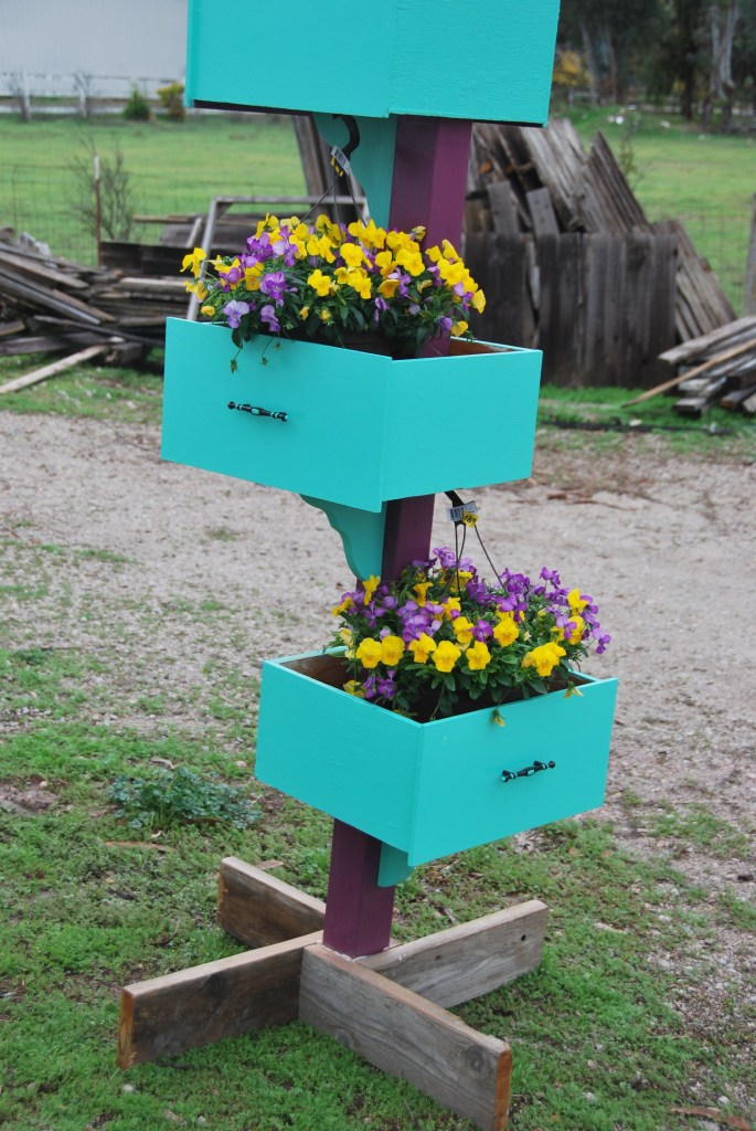 Three-Tiered Planter Box