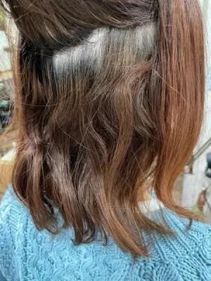 【大阪 今里】ジュエリーシステムで縮毛した髪の毛にピンク系のカラーをする時にした方が良いこと