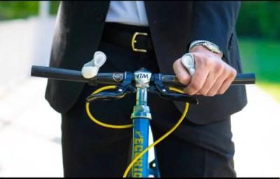 自転車に乗るのに良さそうなグリップを見つけたのだが…