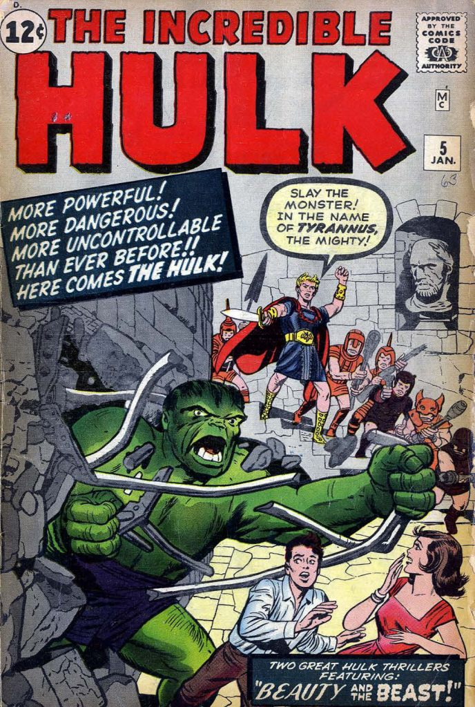 hulk – Coke & Comics