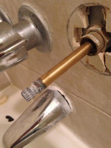 how to tightin a shower handel cokegrupo