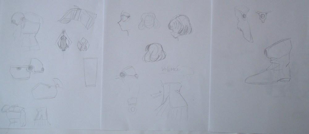 Figura de Fuu (Magic Knight Rayearth) en pasta de modelar. (2/6)