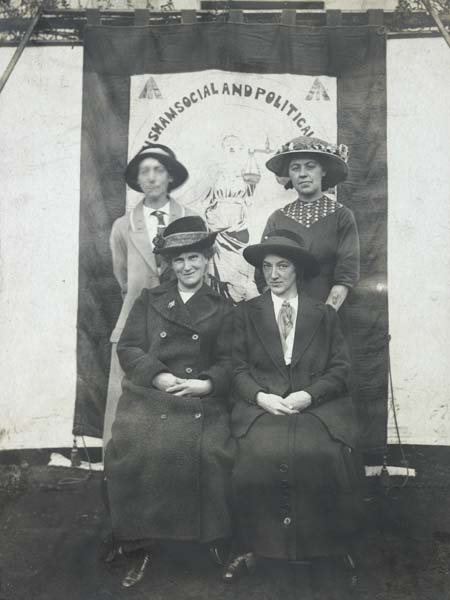 Would these women treat you mean? - Lewisham Suffragettes, Museum of London archives
