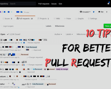10 tips for better Pull Requests