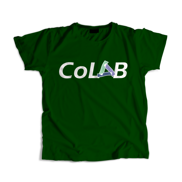 female army green colab t-shirt