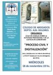 Ciclo de Charlas Virtuales: PROCESO CIVIL Y DIGITALIZACIÓN