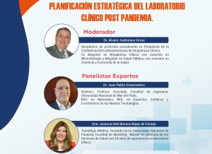 INVITACIÓN PLANIFICACIÓN ESTRATÉGICA DEL LABORATORIO CLÍNICO POST PANDEMIA