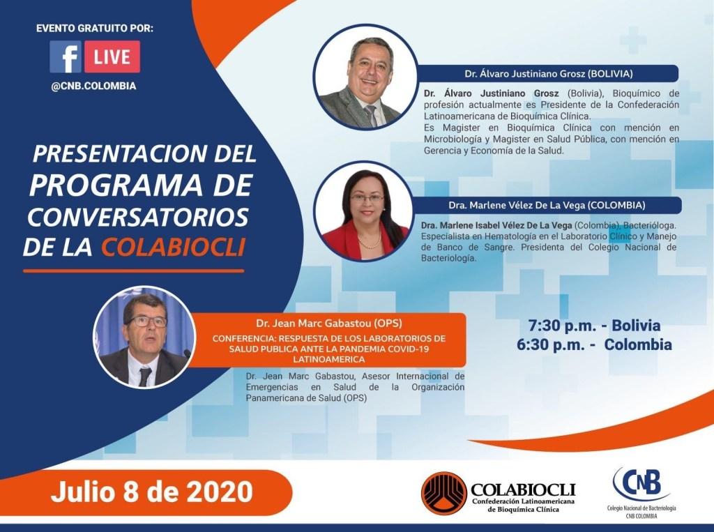 Presentación PROGRAMA DE CONVERSATORIOS DE LA COLABIOCLI