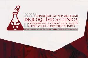 Portada XXV CONGRESO LATINOAMERICANO DE BIOQUÍMICA CLÍNICA