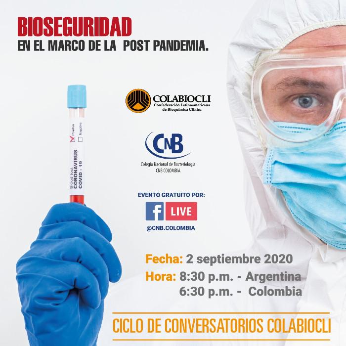Bioseguridad en el marco de la post pandemia.