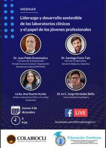 Liderazgo y desarrollo sostenible de los laboratorios clínicos y el papel de los jóvenes profesionales.