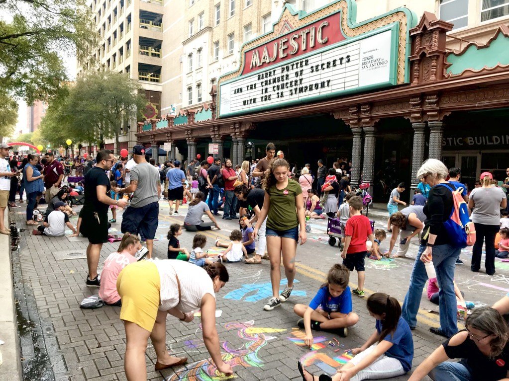 Artpace Chalk It Up 2017