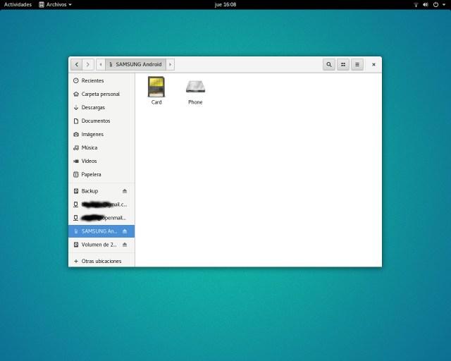Archivos en Ubuntu GNOME