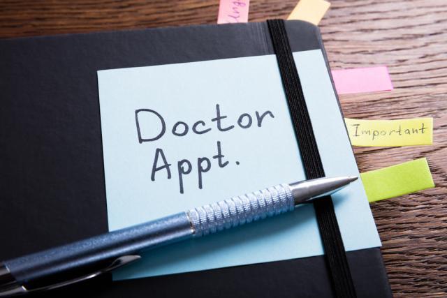 Cita con el médico
