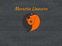 Imagen de portada con el logotipo de Maratón Linuxero y su letra
