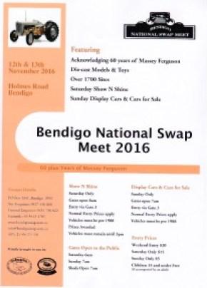 swap meet bendigo 2016 mustang