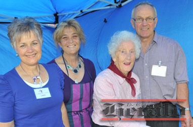 From left, Carol Smit, Ellen Brown, Lois Collins and Ike Smit.