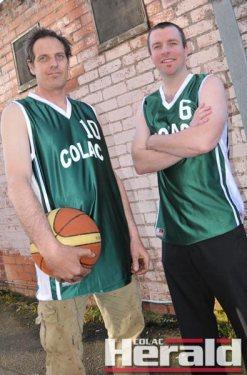 Justin Williamson and Matt Lucas