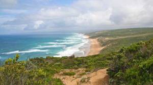 The Geelong College has bought Cape Otway land to build a campus for school camps, with a path providing access from the property to Station Beach.
