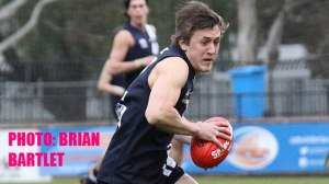 Geelong Falcons officials say Colac footballer Ben McCarthy is a chance to receive an invitation to AFL state screening after a breakout season. PHOTO: Brian Bartlett