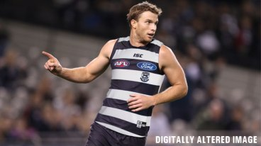 Birregurra export Lachie Henderson has joined his third AFL club after Carlton traded the key tall to Geelong.