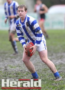 oung South Colac footballer Matt Kenny has crossed to the Colac Tigers to test himself in the Geelong Football League.