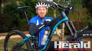 Living with type one diabetes has failed to stop Forrest school teacher Craig Donahoo, 48, from competing in his first 100-kilometre Giant Odyssey at Forrest tomorrow. He is among 1100 riders set to compete.