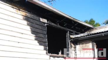 A fire caused irreparable damage to a home in Hill Street, Colac.