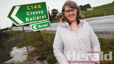 SUPPORT FOR NORTH: Road maintenance in the northern areas of Colac Otway Shire is among the issues Janine Benson hopes to tackle as a councillor if she wins election later this year.