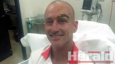Compulsory helmets in Colac district cricket will be a topic of conversation this week after Apollo Bay co-captain Darren Gill ended up in hospital after copping a ball to the eye.