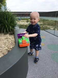 Colac's Mitchell Johnstone, 2, while he battles leukaemia.