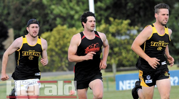 Recruits impress on the track