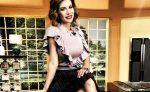 """Ingrid Coronado se queda """"sin curvas"""" con el paso del tiempo"""