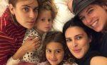 Las cinco hijas de Bruce Willis posan en una bella imagen familiar