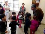 Niños del CADI visitan Casa de Cultura Municipal en Comondú