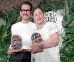 Manolo Caro y Angélica Aragón reciben homenaje en Cancún