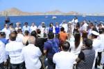 Reconocen la vocación y entrega de quienes han hecho del mar su vida durante el Día de la Marina Nacional