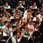 Más de 700 personas aplauden en Mérida, el inicio de la 28ª gira nacional de la Orquesta Sinfónica Infantil de México