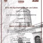 Primer Informe de Gobierno, Armida Castro Guzmán.