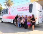 Gobierno Estatal acercará nuevamente el mastógrafo móvil a Cabo San Lucas.