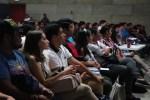 """350 jóvenes asistieron a la conferencia """"Prepárate, Escuchando"""" del IMJUVE"""