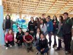 Jóvenes del COBACH 05 entregan valioso donativo al Asilo de Ancianos