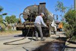 Continúan los trabajos de Bacheo con asfalto y concreto hidráulico: Obras Públicas