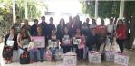 17 mujeres emprendedoras reciben apoyos que fortalece su núcleo familiar por parte de DIF Los Cabos, Atención Ciudadana y Vinculación Social