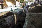 Sustituye Oomsapas de CSL tubería que tenía 40 años de ser instalada; la obra de reparación permitirá erradicar derrames de aguas en El Médano.